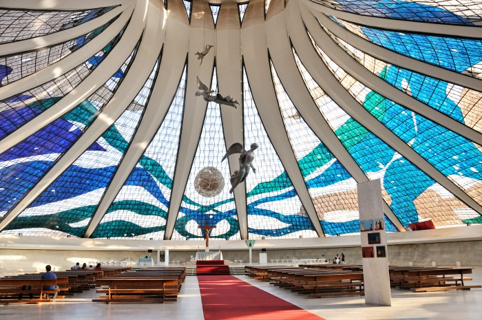 Cathedral of Brasilia is one of the tourist attractions in Brazil you must visit.