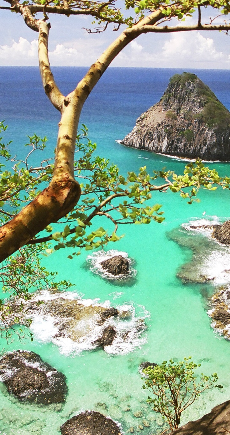 Fernando de Noronha is a one of many tourist attractions in Brazil.