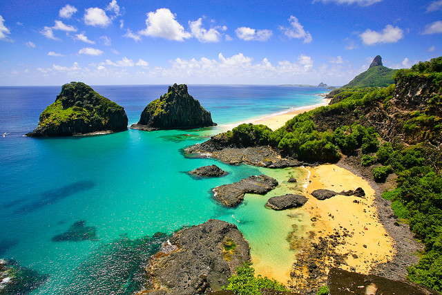 Fernando de Noronha is one of the tourist attractions in Brazil you must visit.