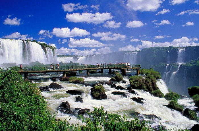 Iguazu Falls is one of the tourist attractions in Brazil you must visit.