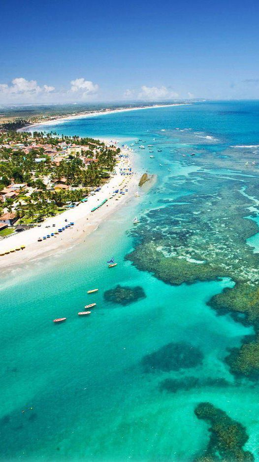 Porto de Galinhas  is a one of many tourist attractions in Brazil.