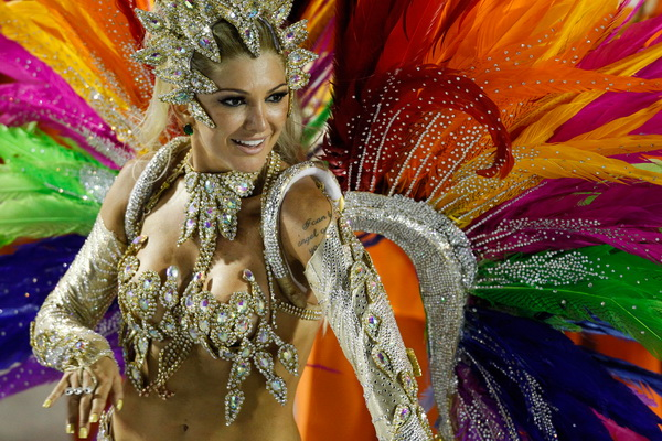 Carnival in Rio is one of the tourist attractions in Brazil you must visit.