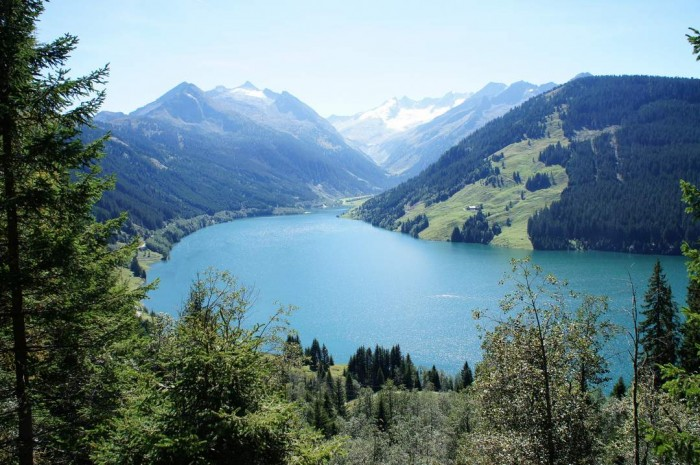 There are many beautiful places in Austria. Durlassboden Reservoir is one of them.