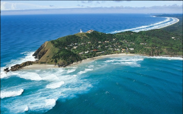 Byron Bay in Australia is one of the beautiful small towns in the world.