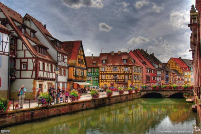 Colmar in France is one of the beautiful small towns in the world.