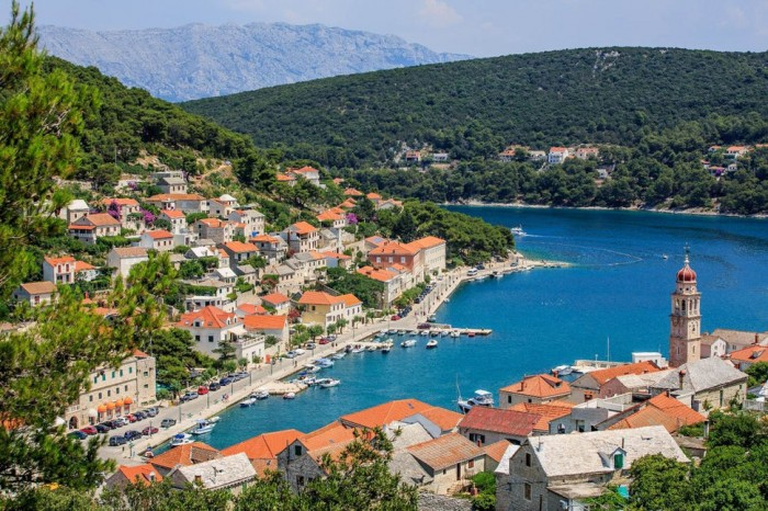 Pucisca in Croatia is one of the beautiful small towns in the world.