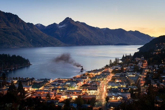 Queenstown in New Zealand is one of the beautiful small towns in the world.