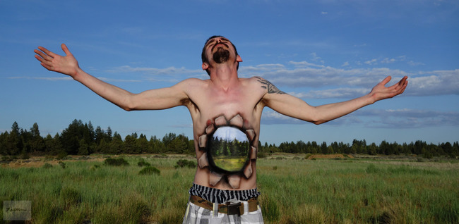 Natalie Fletcher creates some of the best body paint pictures.