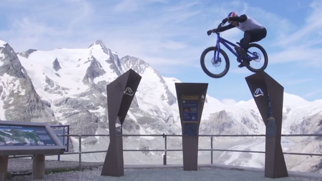 Mountain biker Danny MacAskill takes us on a new ride.