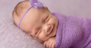 Photos of incredibly sweet smiling babies.