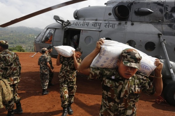 The army is involved in rescue operations after Nepal earthquake.