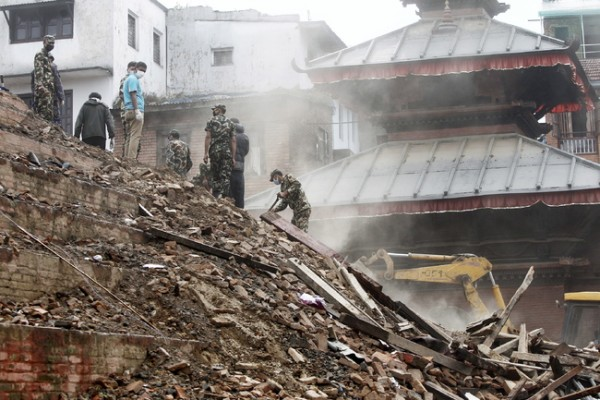 7.8 magnitude earthquake hit Nepal last Saturday.