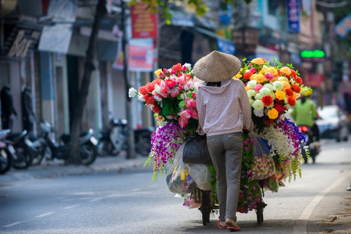 Hanoi is one of the most beautiful places to visit in Vietnam.