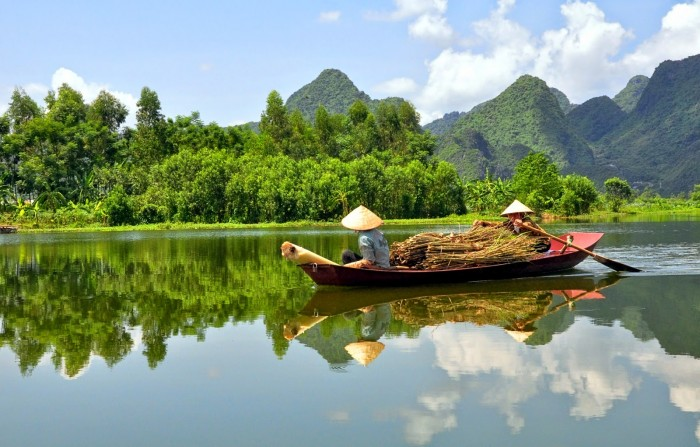 Mekong Delta is one of the most beautiful places to visit in Vietnam.