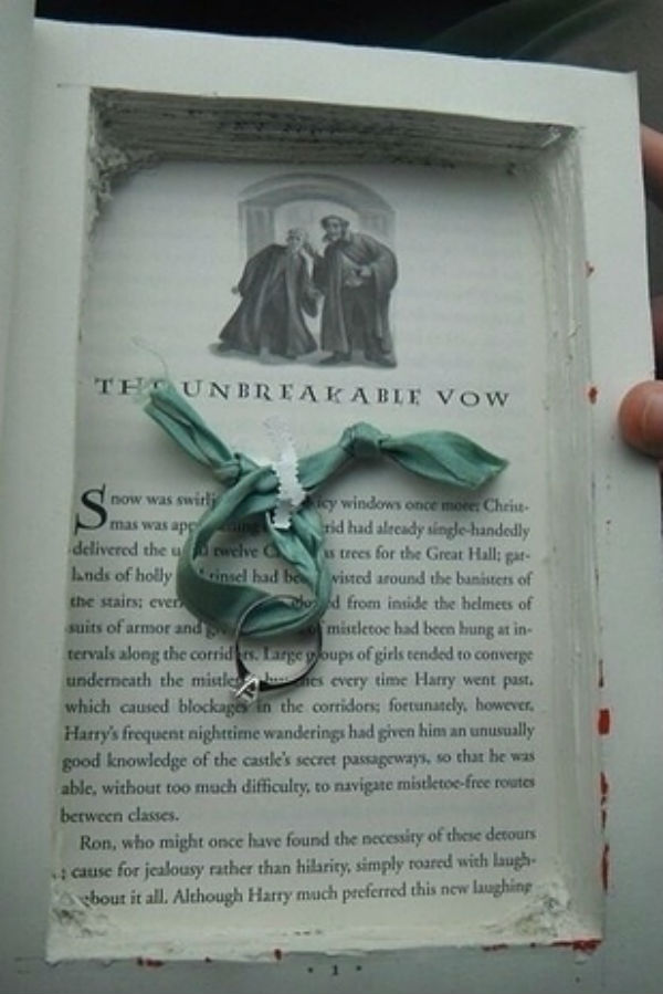 A book of love is one of many ideas about how to propose your loved one.
