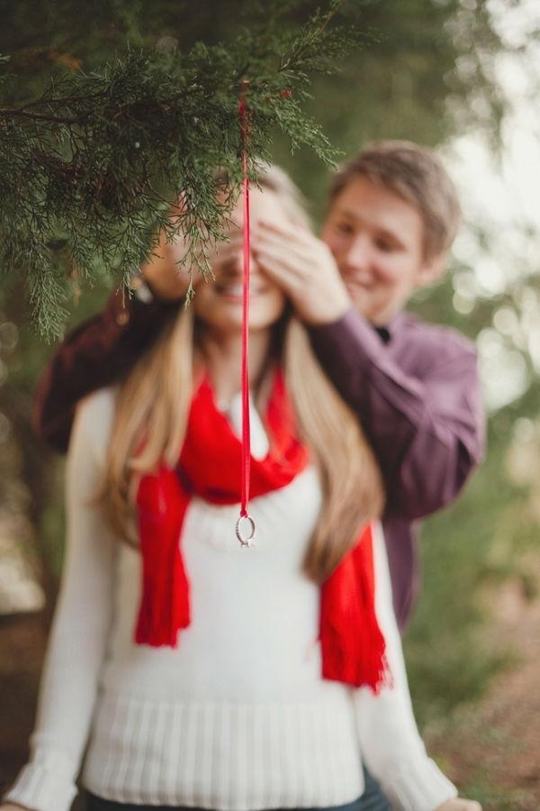 marriage proposal ideas, Christmas