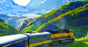 Alaska railroad is one of the most scenic train rides in the world.