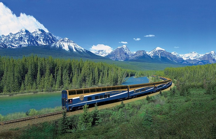 Rocky Mountaineer is one of the most scenic train rides in the world.