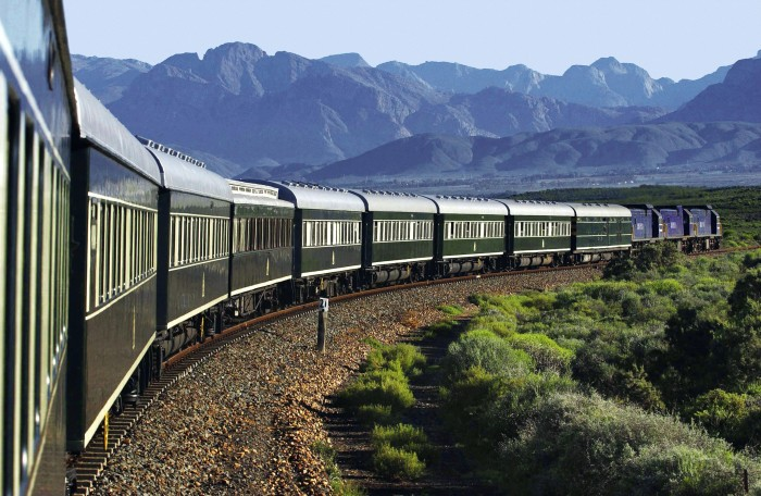 Rovos Rail in South Africa is one of the most scenic train rides in the world.