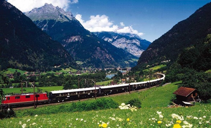 Venice-Simplon Orient Express is one of the most scenic train rides in the world.