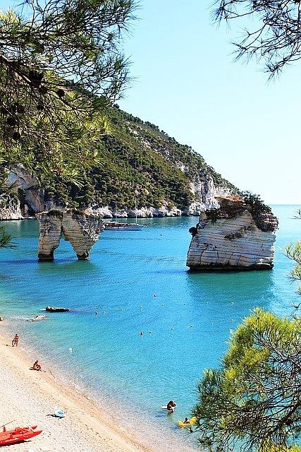Puglia in Italy is one of the best beach honeymoon destinations in the world.