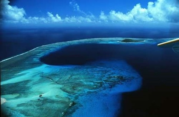 Bikini atoll is one of the most amazing atolls in the world.
