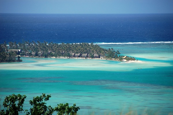 Aitutaki atoll is one of the most amazing atolls in the world.