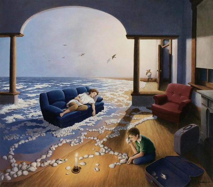 The art of Robert Gonsalves.