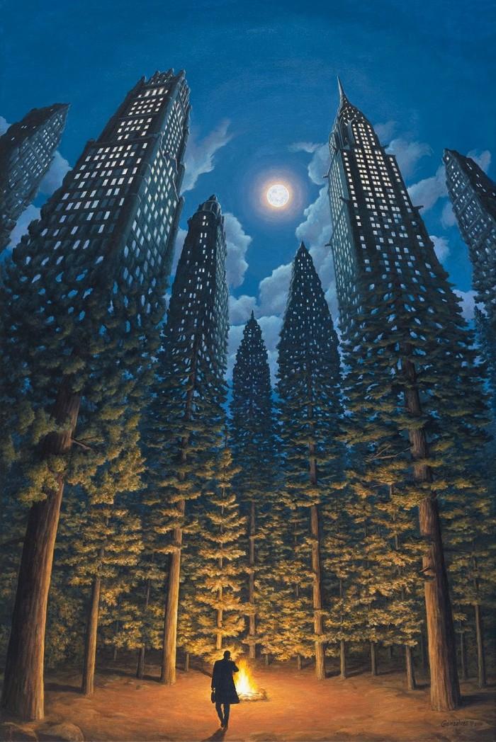 The art of Robert Gonsalves.