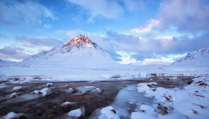Buachaille Etive Mòr is one of top 15 Scotland tourist attractions.