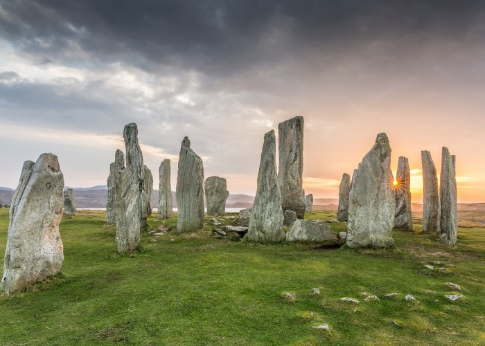 Callanish Standing Stones in the Isle of Lewis areone of top 15 Scotland tourist attractions.