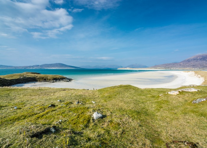 Seilebost in the Outer Hebrides is one of top 15 Scotland tourist attractions.