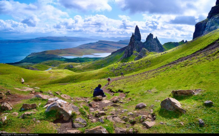 The Storr in the Isle of Skye is one of top 15 Scotland tourist attractions.