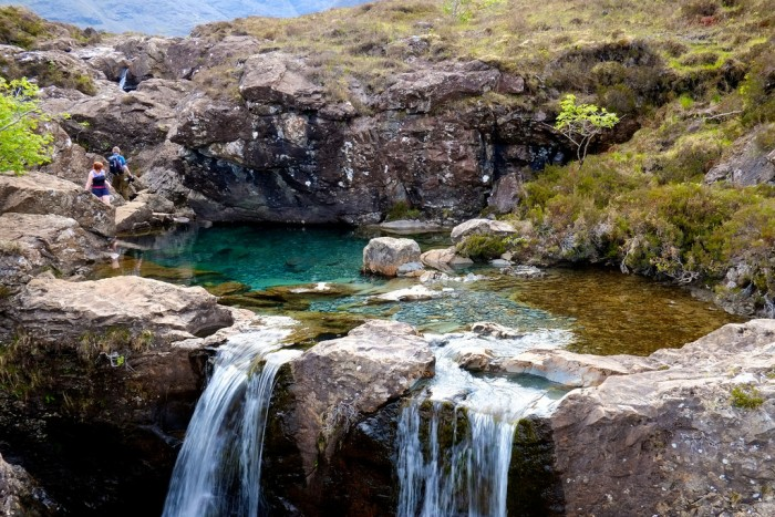 The Fairy Pools in the Isle of Skye are one of top 15 Scotland tourist attractions.