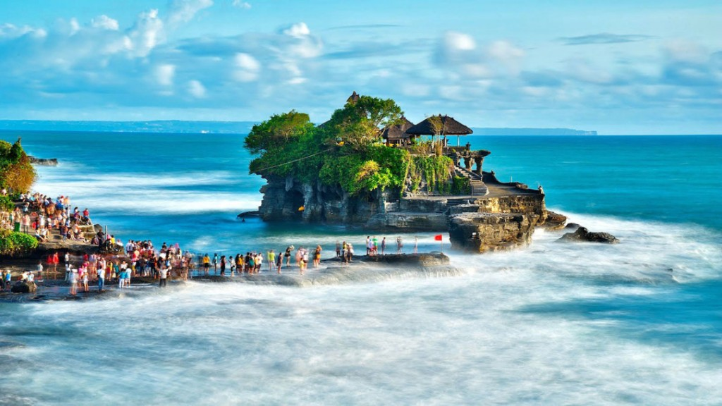 Bali in Indonesia is the seventh on the list of top 10 island destinations for 2015.