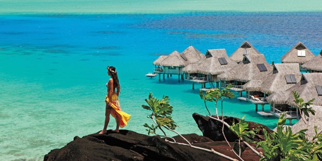 Bora Bora in French Polynesia is ninth on the list of top 10 island destinations for 2015.