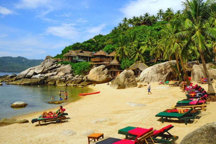 Koh Tao in Thailand is the fifth on the list of top 10 island destinations for 2015.