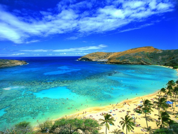 Maui in Hawaii is the second on the list of top 10 island destinations for 2015.