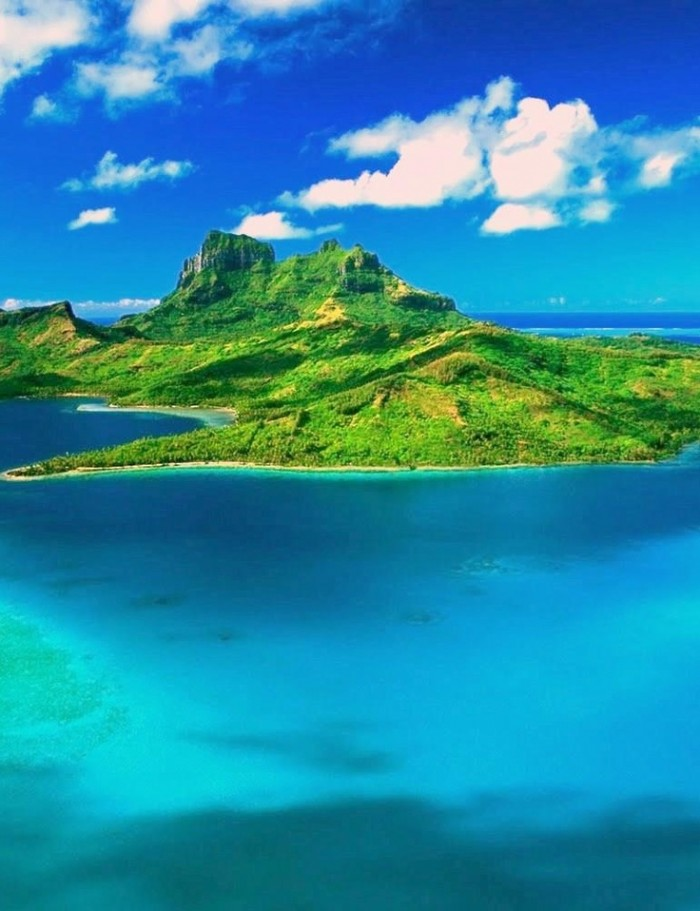 mauritius is the eighth on the list of top 10 island destinations for 2015.