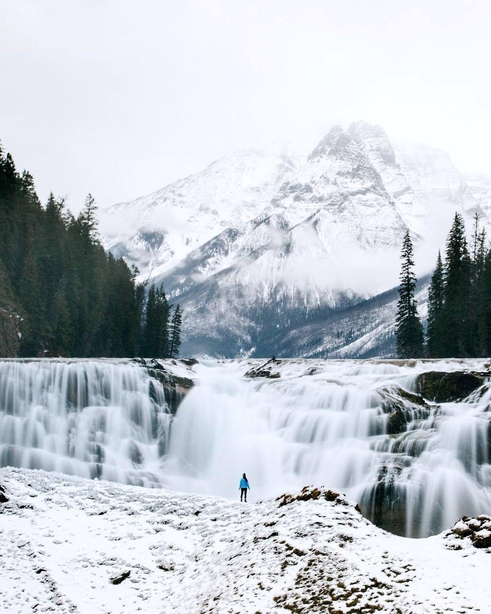 Wapta Falls in Canada