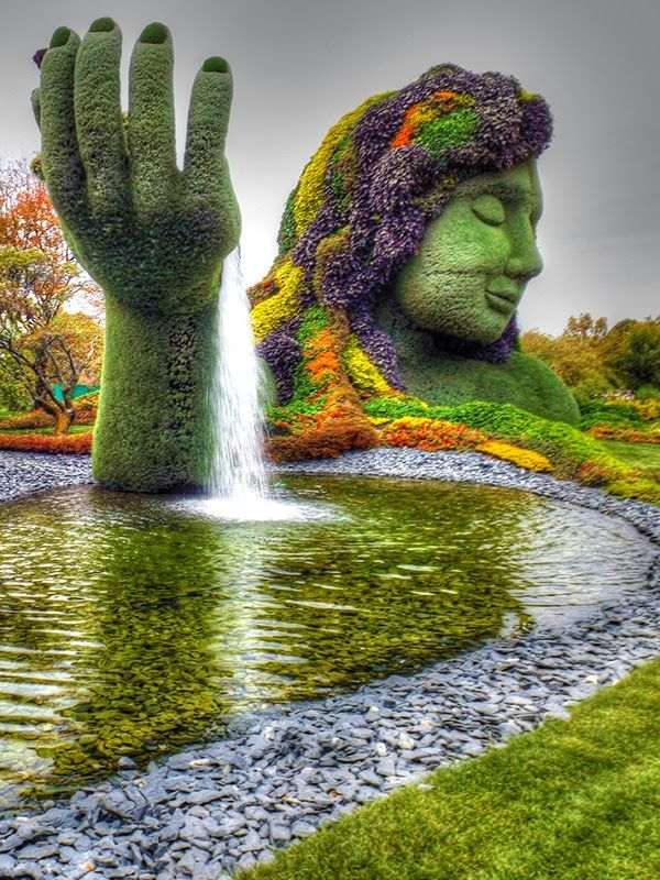 Montreal botanical garden is one of the most beautiful places to visit in Montreal.