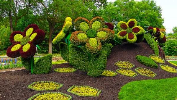 Amazing Montreal botanical garden.