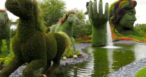 Montreal botanical garden is one of the beautiful places to visit in Canada.