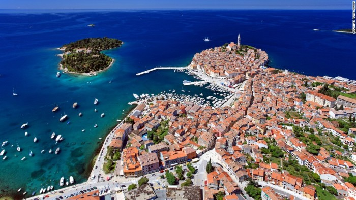 Rovinj in Istra is one of the most beautiful places to visit in Croatia.