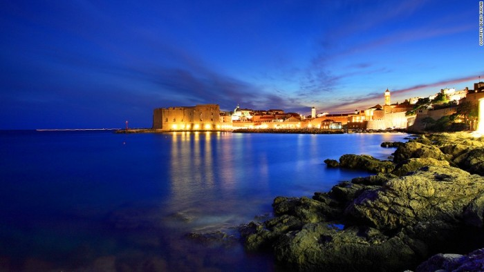 St. John Fort in Dubrovnik is one of the most beautiful places to visit in Croatia.