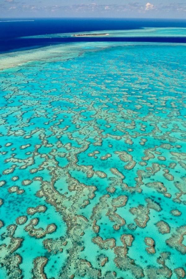 One of 15 unforgettable bucket list trips is Great Barrier Reef in Australia.