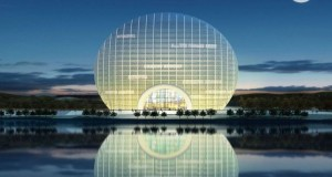 Yanqi Lake Kempinski Hotel in Beijing is one of the most unusual hotels in China.
