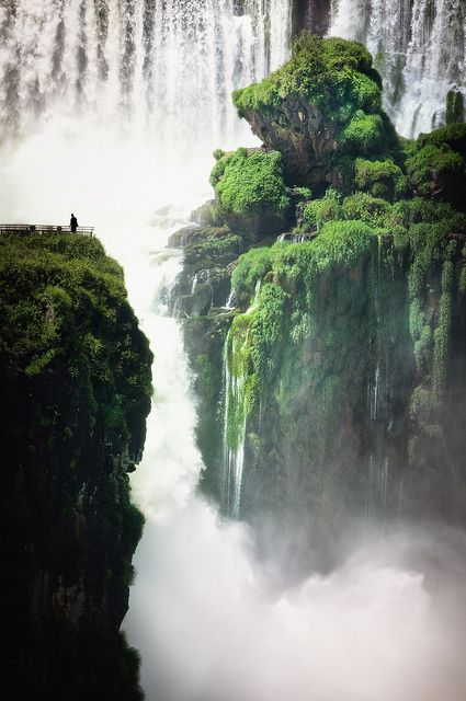 Iguazu Falls in Brazil is one of the most impressive waterfalls around the world.
