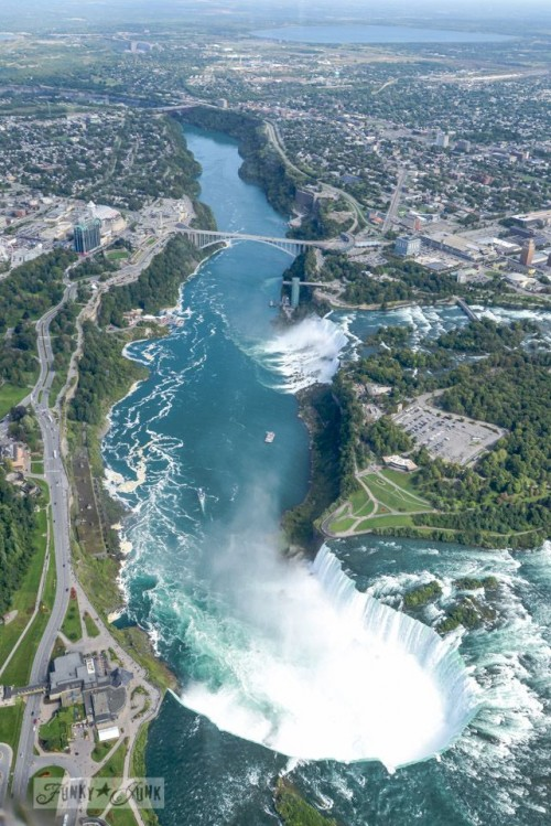 Niagara Falls is one of the most impressive waterfalls around the world.