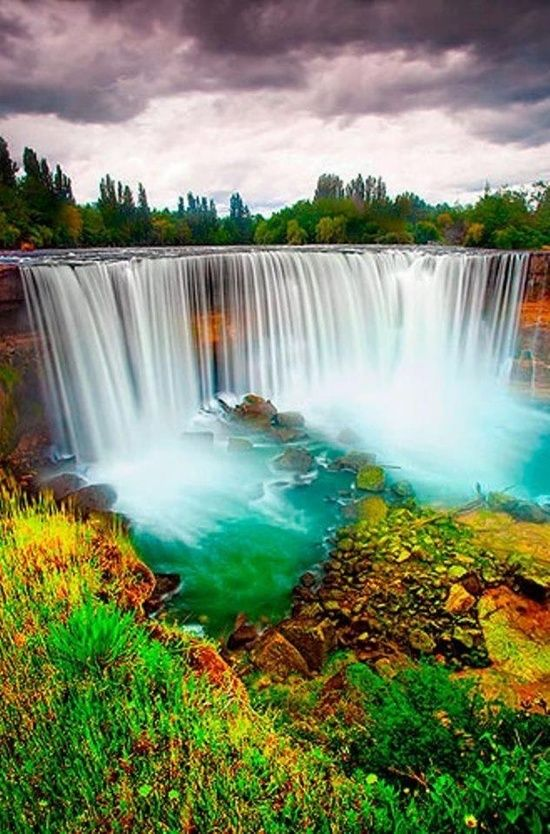 Impressive waterfalls around the world - Salto del Laja Falls in Chile